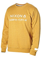 NIXON Alta Crew Sweat vintage orange heather