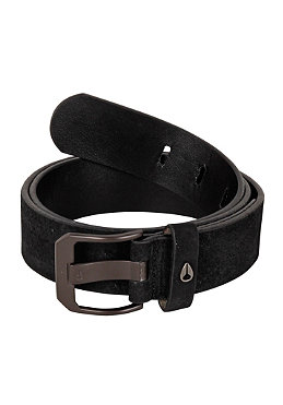 NIXON Americana Belt black suede