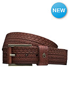 NIXON Americana Belt embossed honey brown