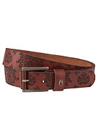 NIXON Americana Belt honey brown ornate
