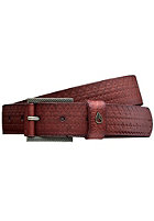 NIXON Americana Slim Belt embossed honey brown