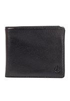 NIXON Apex Big Bill Tri-Fold Wallet all black
