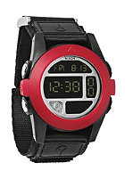 NIXON Baja all black/red