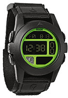 NIXON Baja black/neon green
