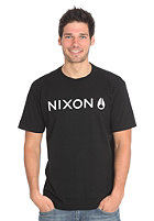 NIXON Basis Regular S/S T-Shirt black/white