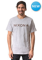 NIXON Basis S/S T-Shirt heather gray