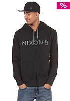 NIXON Basis Too Hooded Zip Sweat black/charcoal