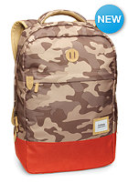 NIXON Beacons Backpack khaki camo / red pepper