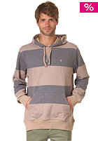 NIXON Blackhawk Hooded Sweat khaki/blackstri