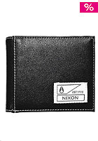 NIXON Block Bi-Fold Wallet black / white