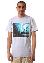 NIXON Blue Light S/S T-Shirt heather gray