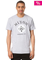 NIXON Bones S/S T-Shirt heather gray