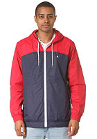 NIXON Brighton Jacket steelblue/rd/wh