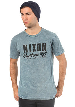 NIXON Build S/S T-Shirt indigo