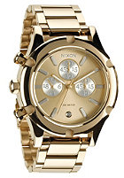 NIXON Camden Chrono Watch champagne gold