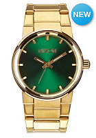 NIXON Cannon gold / green sunray