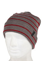 NIXON Canteen Beanie charcoal/bordeaux