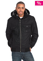 NIXON Captain Hooded Zip Jacket black heather