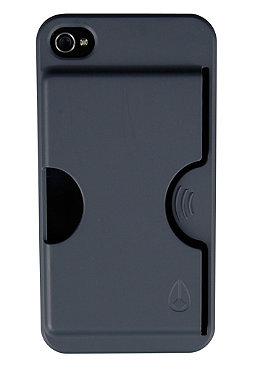 NIXON Carded IPhone 4 Case charcoal
