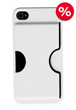 NIXON Carded IPhone 4 Case white