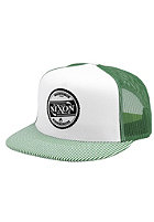NIXON Carson Trucker Cap white / kelly green
