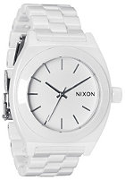 NIXON Ceramic Time Teller white