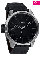 NIXON Chronicle antique silver/black