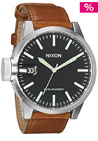 NIXON Chronicle black/saddle