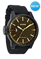 NIXON Chronicle matteblack/oran
