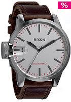 NIXON Chronicle silver/brown