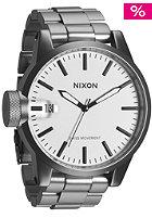 NIXON Chronicle SS sandsteel white
