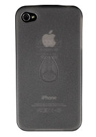NIXON Clear Jacket IPhone 4 Case black