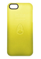 NIXON Clear Jacket Iphone 5 Case surplus/limefad