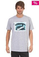 NIXON Coast S/S T-Shirt heather gray