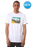 NIXON Colored Water S/S T-Shirt white