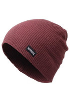 NIXON Compass Beanie bordeaux