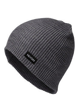 NIXON Compass Beanie charcoal heather