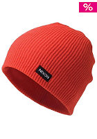 NIXON Compass Beanie red pepper