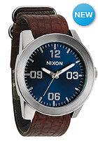 NIXON Corporal brown/blue sunray