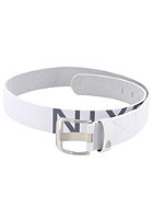 NIXON De Facto Belt white