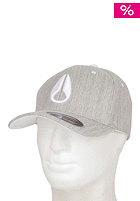NIXON Deep Down Athlet Flexfit Cap heather gray