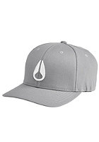 NIXON Deep Down Athletic Flexfit Cap gray