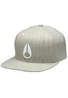 NIXON Deep Down Athletic heather gray/white