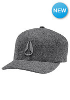 NIXON Deep Down Athletic Textured Cap heather gray