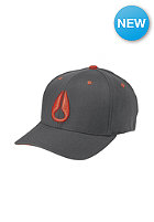 NIXON Deep Down FF Athlet Cap charcoal/red