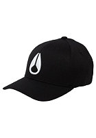 NIXON Deep Down FF Athletic Flexfit Cap all black
