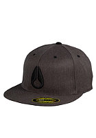 NIXON Deep Down Flexfit EX Dime Cap black heather