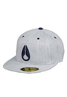 NIXON Deep Down Flexfit EX Dime Cap navy heather