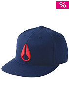 NIXON Deep Down II Flexfit Cap navy/red