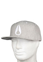 NIXON Deep Down Marle Start Cap heather gray